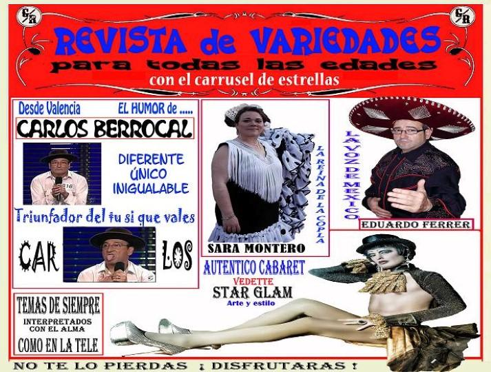 REVISTA DE VARIEDADES ALEGRIA PA TU CUERPO