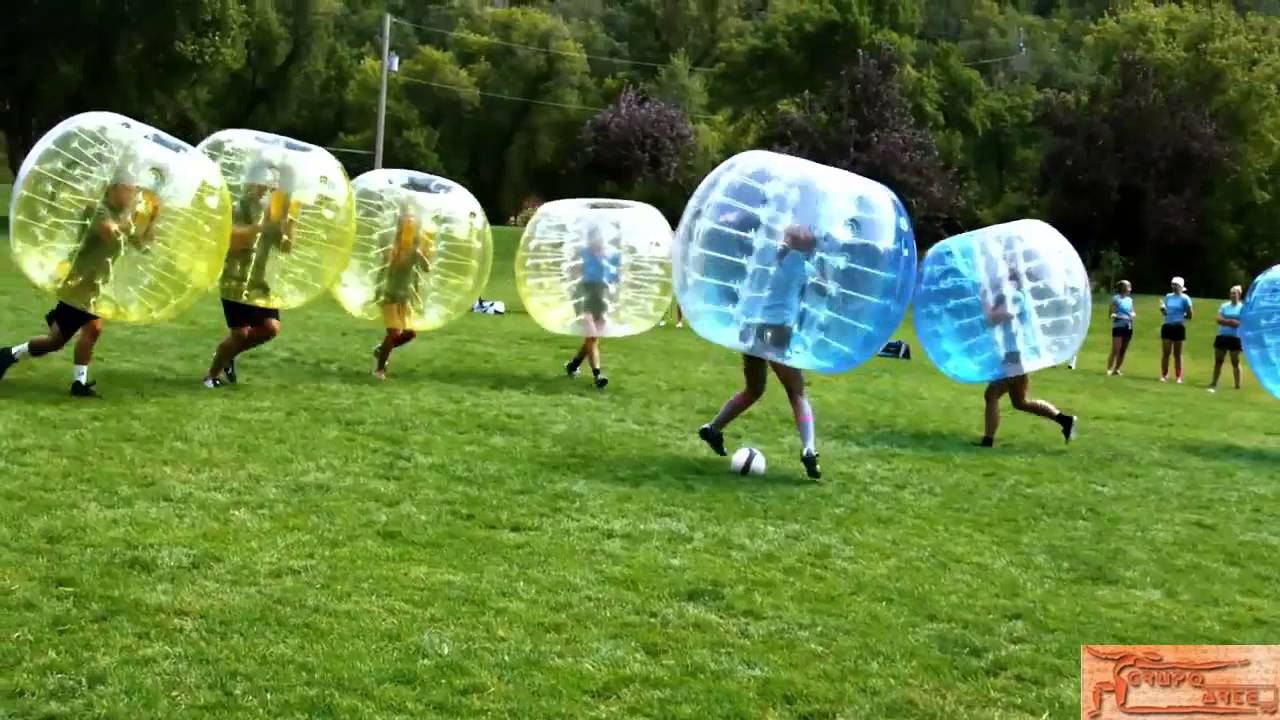 BUBBLE FOOTBALL  o FUTBOL DE BURBUJAS